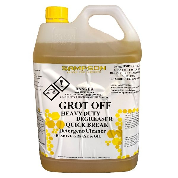 GROT OFF 5LTR DEGREASER