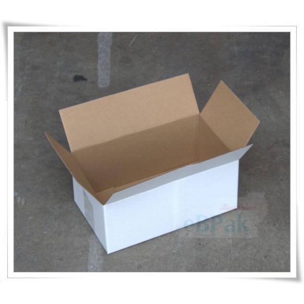 CARDBOARD BOX LA4 310x215x125 EACH