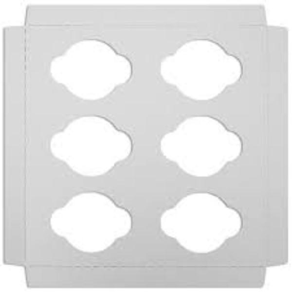 CUP CAKE INSERT (SIX) PK10 (CTN600) - Click for more info