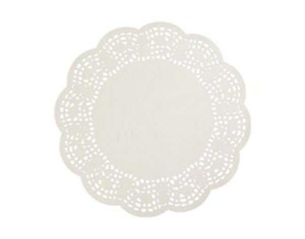 "DOYLEY 7.5"" ROUND GREASEPROOF SCALLOPED EDGE CTN1000"