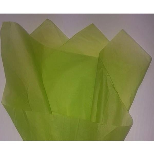 PAPER TISSUE REAM LIME GREEN 480'S