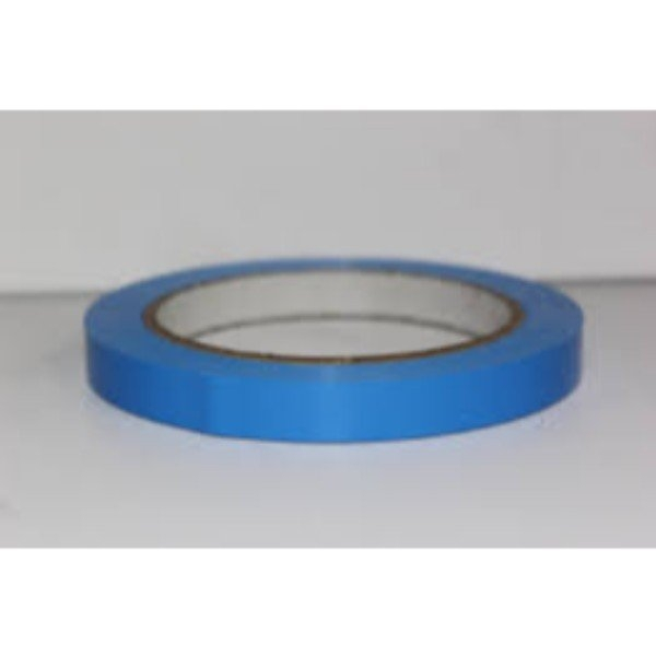 TAPE BAG SEAL LASSO 12mm x 66m BLUE EACH  (PK24)