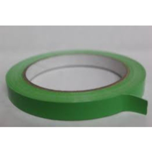TAPE BAG SEAL LASSO 12mm x 66m GREEN EACH  (PK24)