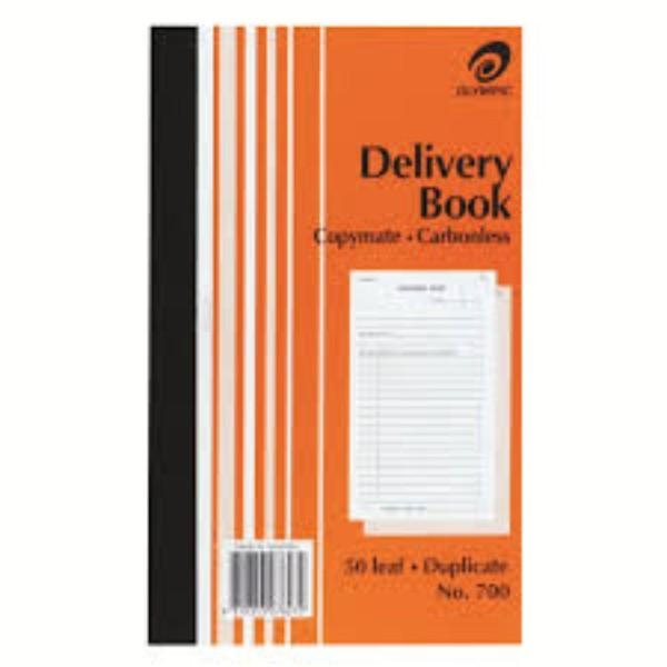 BOOK GOODS DELIVERY DUPLICATE OLYMPIC 700 CARBONLESS