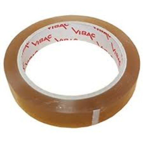 TAPE CLEAR PACK VIBAC 19mmx66m EACH (CTN90)
