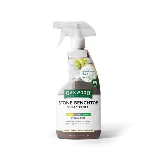 STONE BENCHTOP 3-IN-1 CLEANER 500ML OAKWOOD