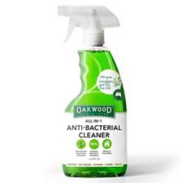 ALL IN 1 ANTI BACTERIAL CLEANER 500ML OAKWOOD
