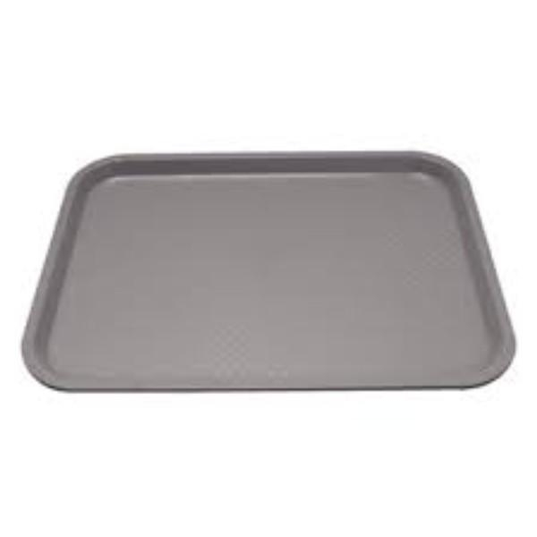TRAY PLASTIC GREY 45X35CM EACH P508