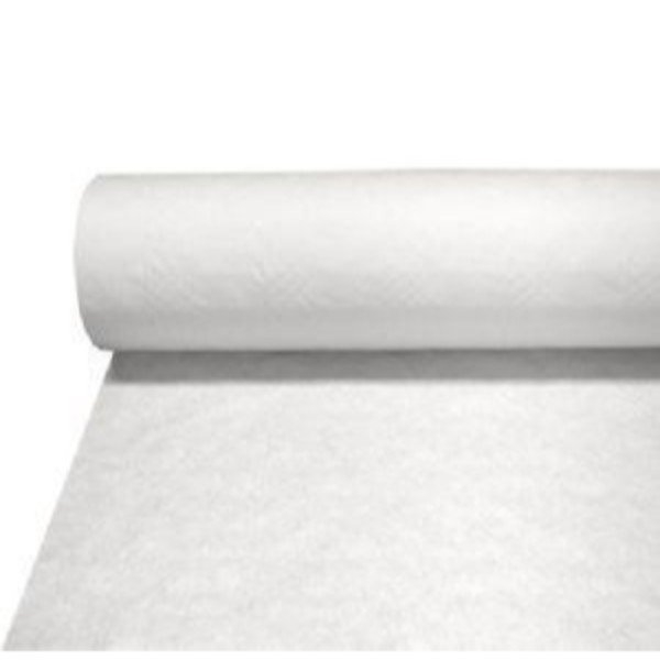 TABLE CLOTH PAPER ROLL WHITE 50MTR