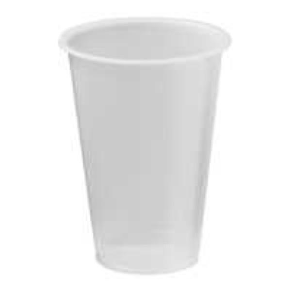 CUP 15oz PLASTIC CLEAR 425MM CAPRI PK 50 (CTN1000)
