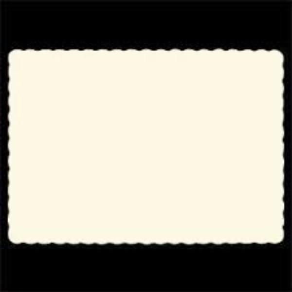 PLACEMATS WHITE PK500  (CTN1000)
