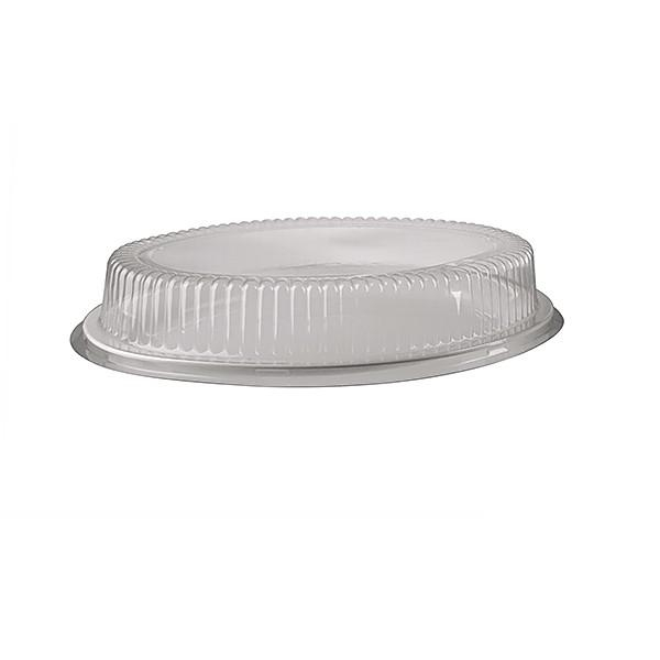 """PLATTER LID 16"""" DOME OVAL CLEAR ANCHOR"""