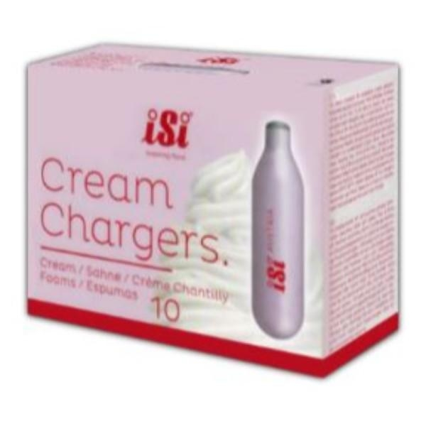 CREAM CHARGER BULBS PKT10  (ISI BRAND)