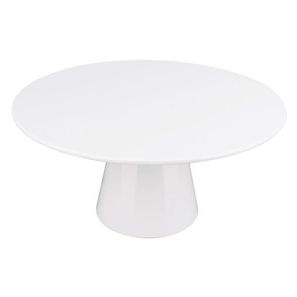 CAKE STAND 300mm  x 100H MELAMINE OLYMPIA
