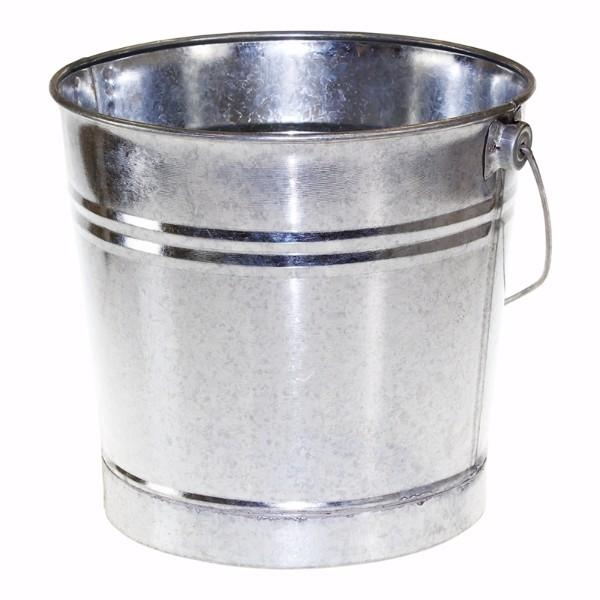 BUCKET 9LT GALVANISED - Click for more info