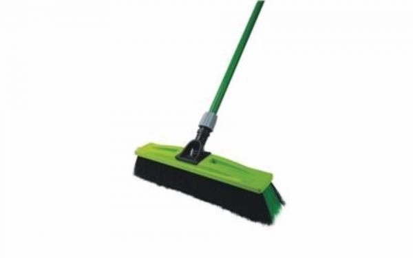 BROOM PROFESSIONAL 350MM W/HAN SM/ROUGH SABCO - Click for more info