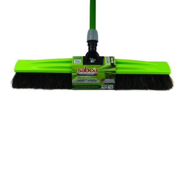 BROOM INDOOR LGE AREA 600MM SABCO