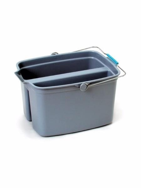 BUCKET DIVIDED LARGE 2 X 9LT