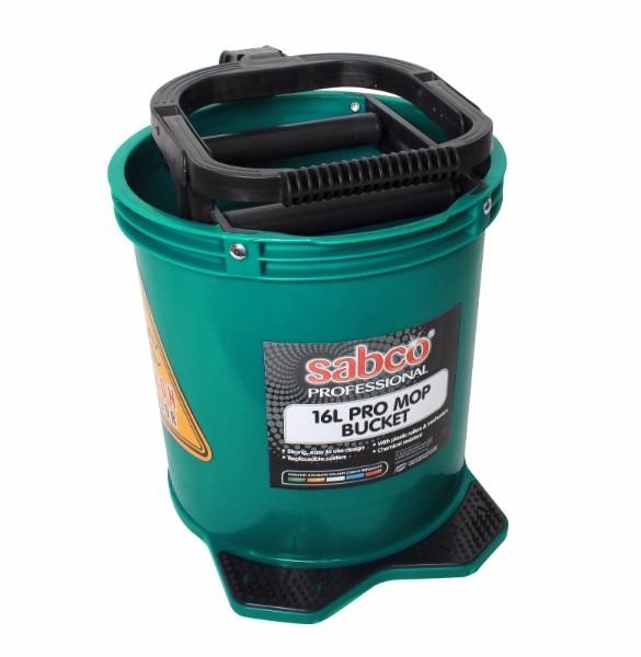 BUCKET PRO MOP 16L GREEN SABCO - Click for more info