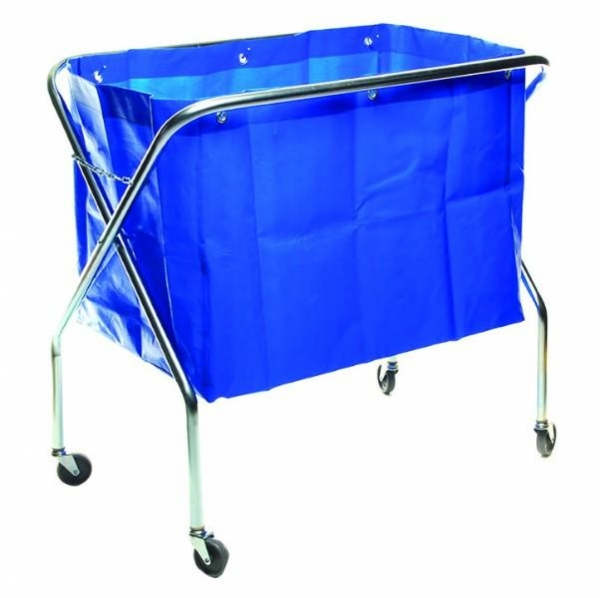 SCISSOR TROLLEY COMPLETE WITH BAG SABCO