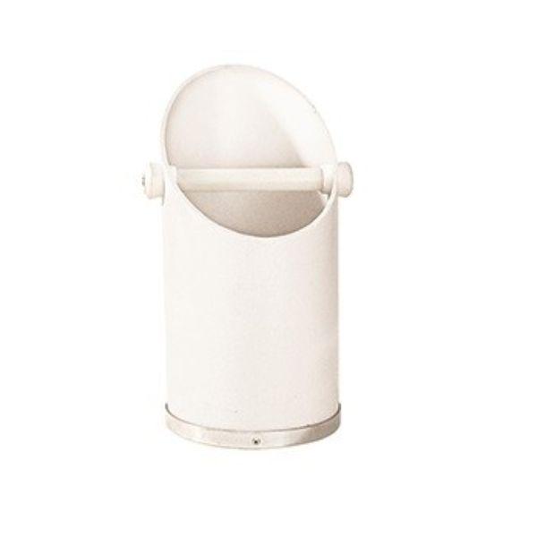 COFFEE KNOCKER BENCHTOP 370MM HIGH WHITE
