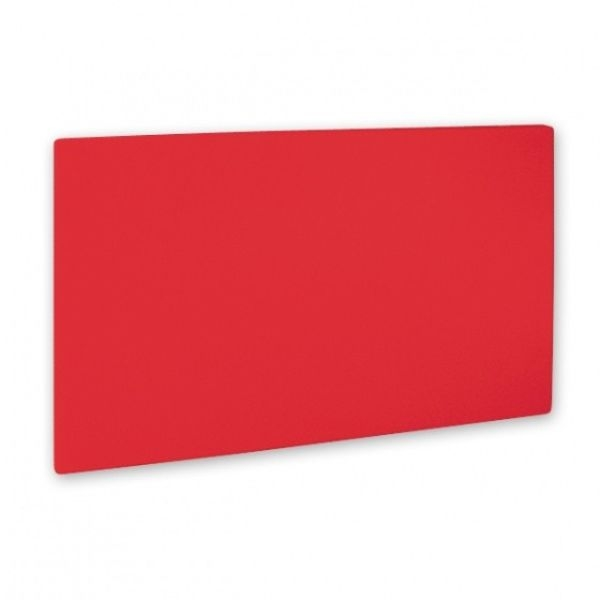 CUTTING BOARD POLY 325x530x20MM RED