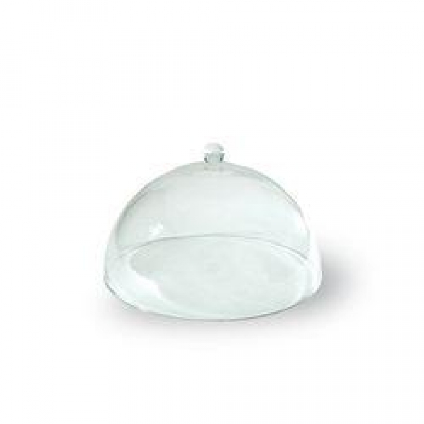 CAKE COVER DOME ACRYLIC BALL HANDLE 300MM