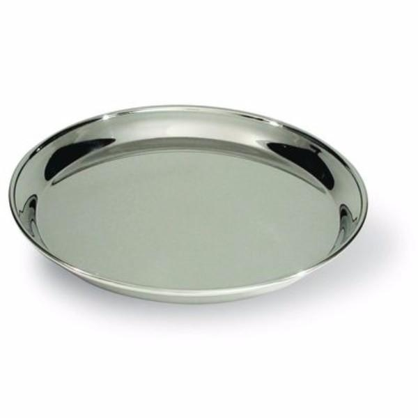 TRAY ROUND STAINLESS STEEL 40CM