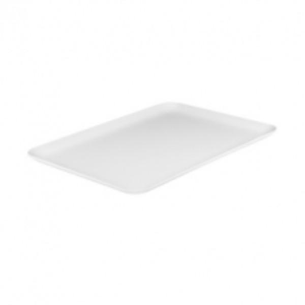 MELAMINE AMENITY TRAY 205X140MM WHITE