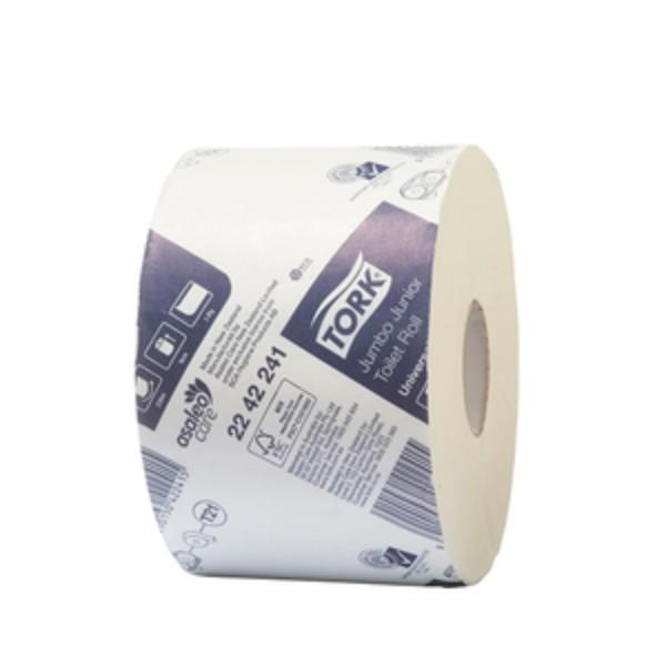 TOILET ROLL JUMBO 1PLY JUNIOR 18ROLLS