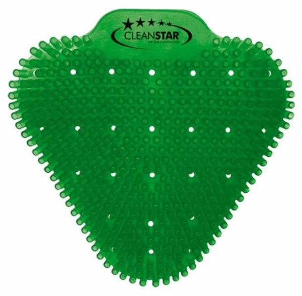 URINAL SCREEN APPLE (dark green) anti splash ea (pack 10) CS