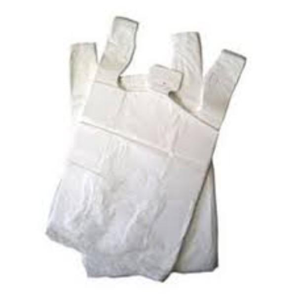 BAG SINGLET 35um RE-USE  EXTRA LARGE WHITE H/D PK50 CTN500