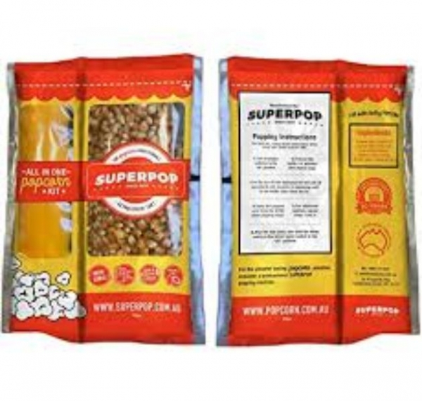 ALL IN ONE POPCORN SACHET 300G - Click for more info